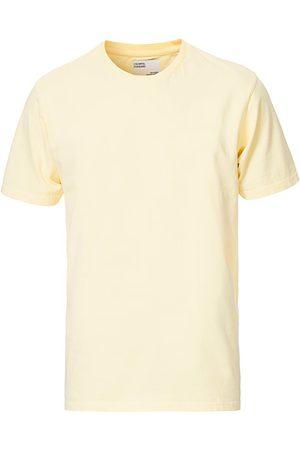 Colorful Standard Miehet T-paidat - Classic Organic T-Shirt Soft Yellow