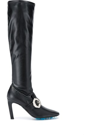 OFF-WHITE Naiset Ylipolvensaappaat - Buckle-detail over-the-knee boots