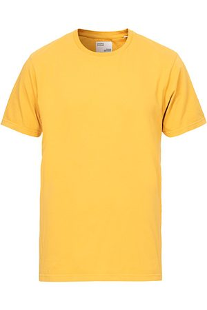 Colorful Standard Miehet T-paidat - Classic Organic T-Shirt Burned Yellow