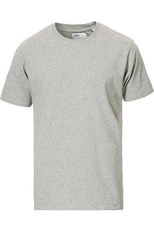 Colorful Standard Miehet T-paidat - Classic Organic T-Shirt Heather Grey