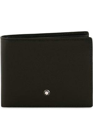 Mont Blanc Meisterstück Leather Wallet 6cc Black