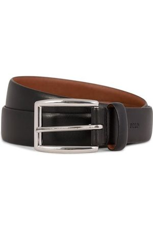 Ralph Lauren Cowhide Belt 3 cm Black