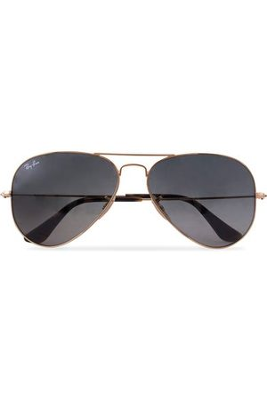 Ray-Ban Miehet Aurinkolasit - 0RB3025 Aviator Sunglasses Gold/Grey