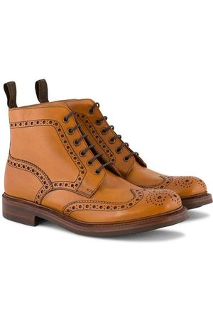 Loake Bedale Boot Tan Burnished Calf