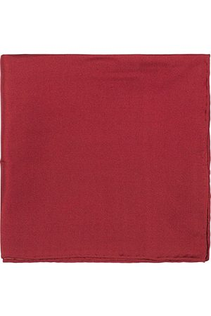 Amanda Christensen Handkercheif Silk Wine Red