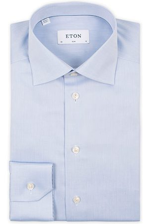 Eton Miehet Kauluspaidat - Slim Fit Shirt Blue