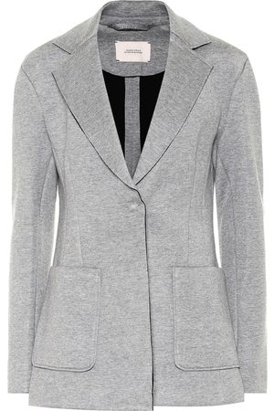 Dorothee Schumacher Minimalist Charm stretch cotton-blend blazer