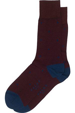Falke Miehet Sukat - Cotton Dot Sock Barolo/Navy