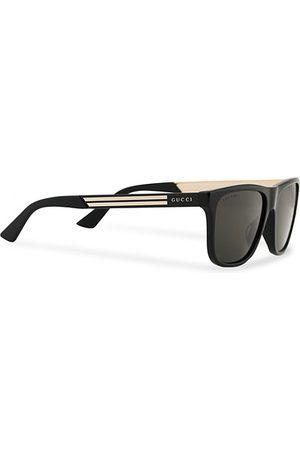 Gucci Miehet Aurinkolasit - GG0687S Sunglasses Black
