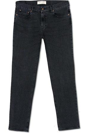 Jeanerica Miehet Slim Fit - SM001 Slim Jeans Used Black