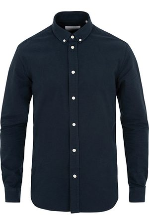 Samsøe Samsøe Liam Button Down Shirt Dark Sapphire