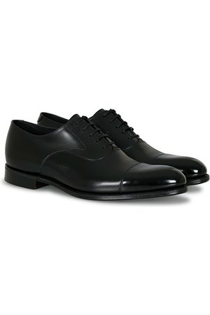 Loake Miehet Loaferit - Hanover Toe Cap Oxford Onyx Black