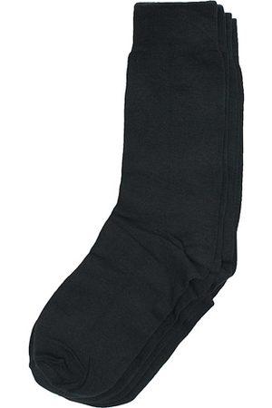 Bread & Boxers Miehet Sukat - 2-Pack Socks Black
