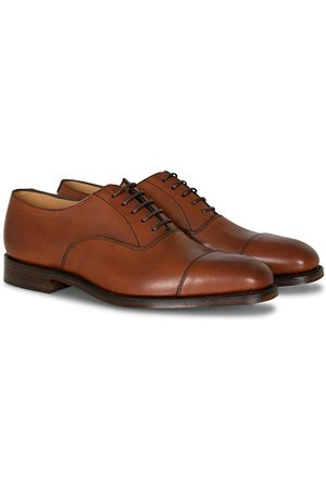Loake Miehet Loaferit - Aldwych Oxford Mahogany Burnished Calf