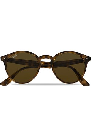 Ray-Ban Miehet Aurinkolasit - RB2180 Acetat Sunglasses Dark Havana/Dark Brown