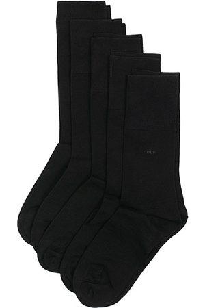 CDLP 5-Pack Bamboo Socks Black