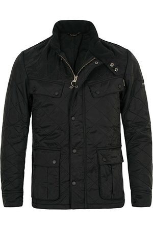 Barbour Miehet Päällystakit - Ariel Polarquilt International Black