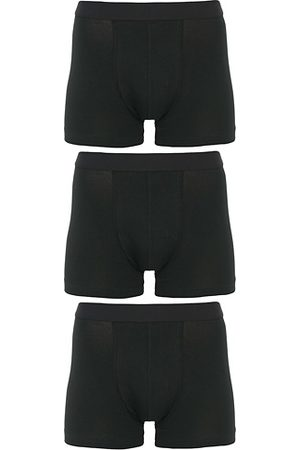 Bread & Boxers Boxer Brief 3-Pack Black