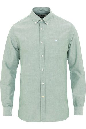 Barbour Miehet Bisnes - Tailored Fit Oxford 3 Shirt Green