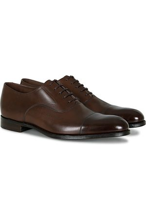 Loake Hanover Toe Cap Oxford Roasted Coffee