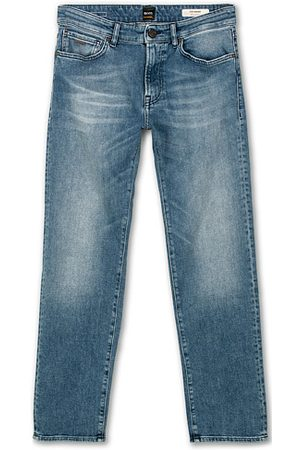 HUGO BOSS Maine Regular Fit Stretch Jeans Bright Blue