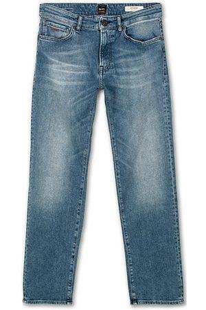 HUGO BOSS Miehet Stretch - Maine Regular Fit Stretch Jeans Bright Blue