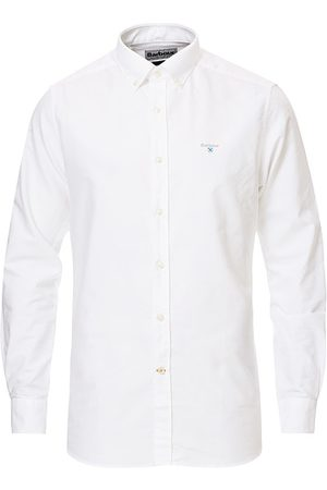 Barbour Miehet Bisnes - Tailored Fit Oxford 3 Shirt White