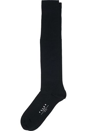 Falke Airport Knee Socks Dark Navy