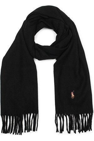 Polo Ralph Lauren Signatur Wool Scarf Black
