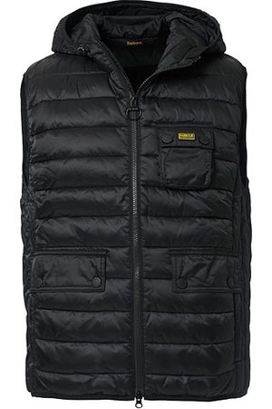 Barbour Ousten Hooded Gilet Black