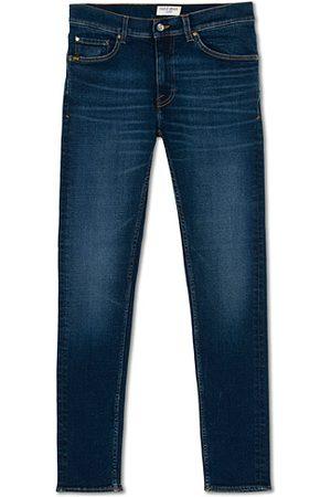 Tiger of Sweden Miehet Farkut - Evolve Charm Superstretch Jeans Blue