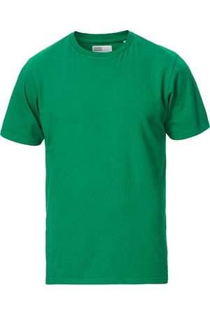 Colorful Standard Miehet T-paidat - Classic Organic T-Shirt Kelly Green