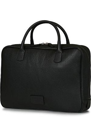 Anderson's Miehet Tietokonelaukut - Full Grain Leather Briefcase Black