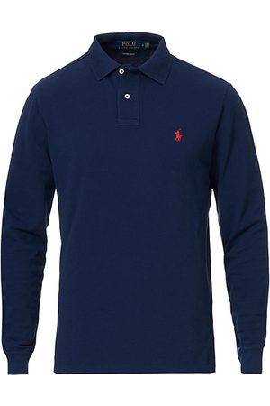 Polo Ralph Lauren Core Fit Long Sleeve Polo Newport Navy