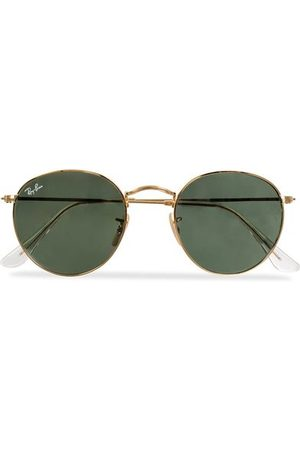 Ray-Ban RB3447 Metal Sunglasses Arista/Crystal Green