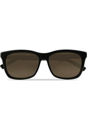 Gucci Miehet Aurinkolasit - GG0449S Sunglasses Black/Gold/Brown