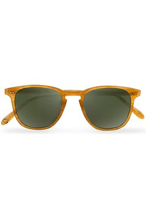 GARRETT LEIGHT Miehet Aurinkolasit - Brooks 47 Sunglasses Butterscotch/Green Polarized