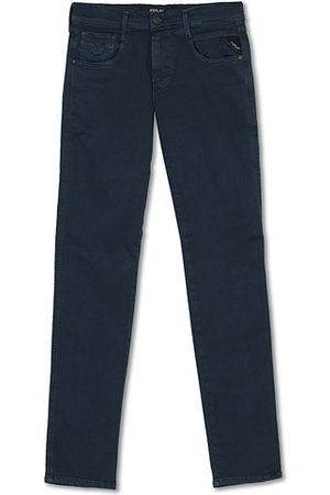 Replay Miehet Housut - Anbass Hyperflex 5-Pocket Trousers Blue
