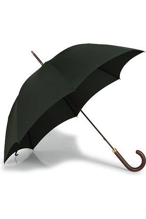 Fox Umbrellas Miehet Sadevaatteet - Polished Hardwood Umbrella Racing Green
