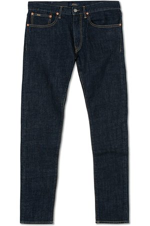 Polo Ralph Lauren Miehet Slim Fit - Sullivan Slim Fit Rins Stretch Jeans Dark Blue
