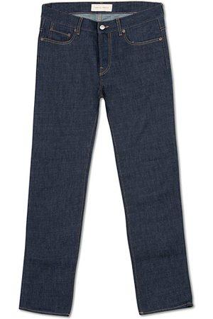 Jeanerica Miehet Slim Fit - SM001 Slim Jeans Blue Raw