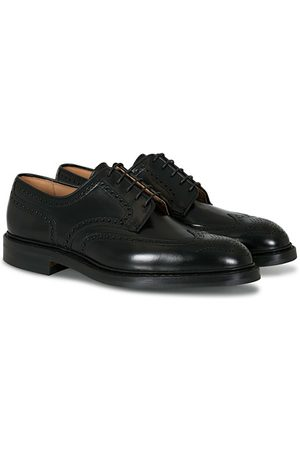 Crockett & Jones Miehet Loaferit - Pembroke Derbys Black Calf