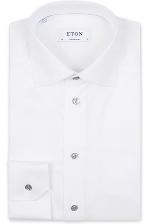 Eton Contemporary Fit Signature Twill Shirt White
