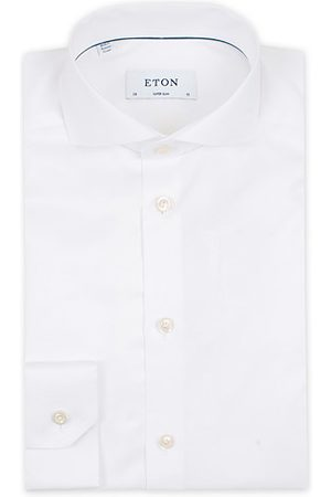 Eton Miehet Kauluspaidat - Super Slim Fit Shirt Cutaway White