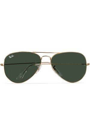 Ray-Ban Aviator Large Metal Sunglasses Arista/Grey Green