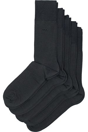 CDLP Miehet Sukat - 5-Pack Bamboo Socks Charcoal Grey