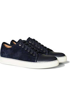 Lanvin Miehet Tennarit - Nappa Captoe Sneaker Navy Blue