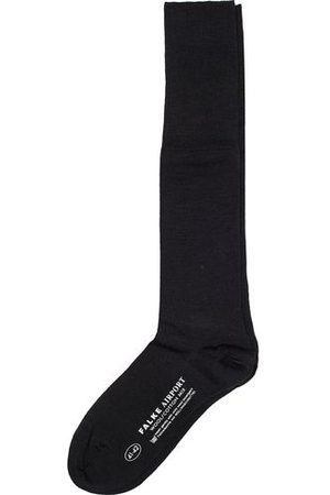 Falke Airport Knee Socks Black