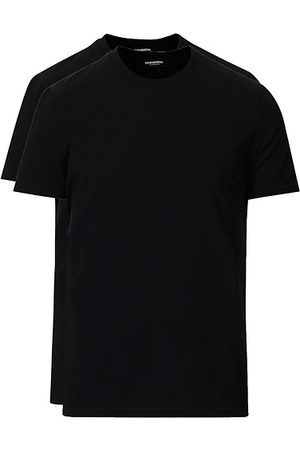 Dsquared2 Miehet T-paidat - 2-Pack Cotton Stretch Crew Neck Tee Black