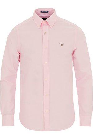 GANT Miehet Bisnes - Slim Fit Oxford Shirt Light Pink